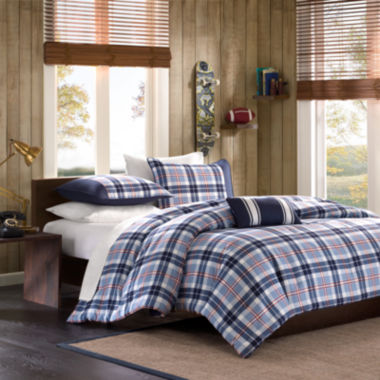 jcpenney.com | Mi Zone Alton Plaid Duvet Cover Set