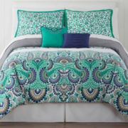 Ideology Verdi Paisley Sateen Comforter Set