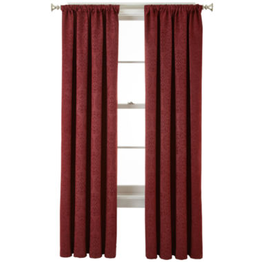 jcpenney.com | Home Expressions™ Beckley Blackout Rod-Pocket Curtain Panel
