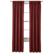 Royal Velvet® Beckley Room-Darkening Rod-Pocket Curtain Panel