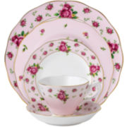 Royal Albert® Pink Vintage 5-pc. Bone China Dinnerware Set