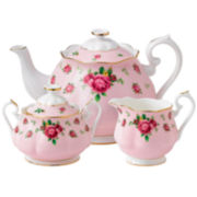 Royal Albert® Pink Vintage 3-pc. Bone China Teapot Set