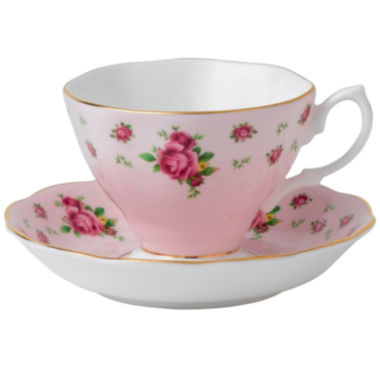 jcpenney.com | Royal Albert® Pink Vintage Teacup & Saucer Set