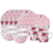 Royal Albert® Pink Casual 16-pc. Dinnerware Set