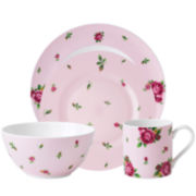Royal Albert® Pink Casual 4-pc. Dinnerware Set