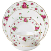 Royal Albert® White Vintage 5-pc. Dinnerware Set