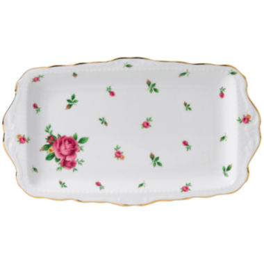 jcpenney.com | Royal Albert® White Vintage Sandwich Tray