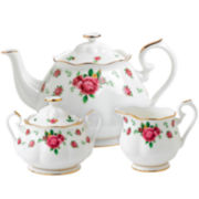 Royal Albert® White Vintage 3-pc. Teapot Set