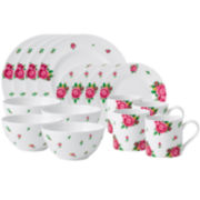 Royal Albert® White Casual 16-pc. Dinnerware Set