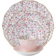 Royal Albert® Rose Confetti Vintage 5-pc. Dinnerware Set