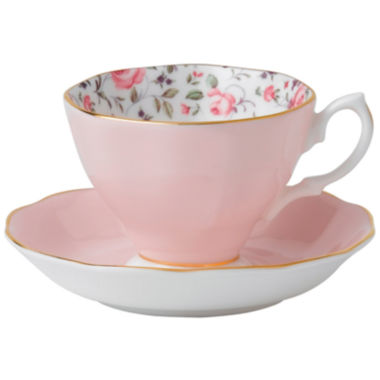 jcpenney.com | Royal Albert® Rose Confetti Vintage Teacup & Saucer Set