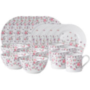 Royal Albert® Rose Confetti Casual 16-pc. Dinnerware Set