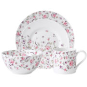 Royal Albert® Rose Confetti Casual 4-pc. Dinnerware Set