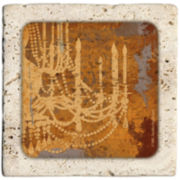 Thirstystone® Chandelier Set of 4 Coasters