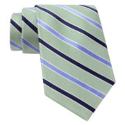 Stafford® Snap Striped Silk Tie