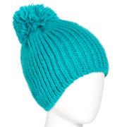 Mixit™ Cable Knit Pom-Pom Hat