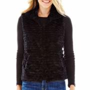 Mixit™ Faux-Fur Vest