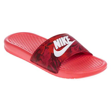 ... Print Pink Womens Sandals 7 US | upcitemdb UPC 826216401499 product  image for Nike Benassi JDI Slide Sandals | upcitemdb.com ...