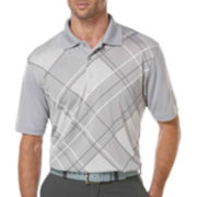 PGA TOUR® Argyle Print Polo