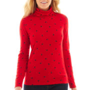 St. John's Bay® Long-Sleeve Turtleneck