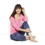 Sleep Chic Long Sleep Tee or Microfleece Pants