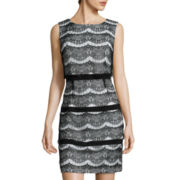 Scarlett Sleeveless Lace Sheath Dress