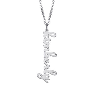 jcpenney.com | Personalized Vertical Name Pendant Necklace