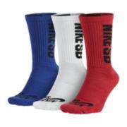 Nike® Mens 3-pk. Crew Socks