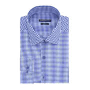 Van Heusen® Indigo Gingham Dress Shirt - Slim Fit