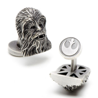 jcpenney.com | Star Wars® 3D Palladium Chewbacca Cuff Links