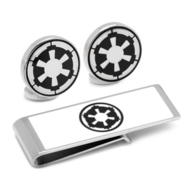 jcpenney.com | Star Wars® Imperial Empire Cuff Links & Money Clip Gift Set