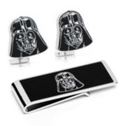Star Wars® Darth Vader Cuff Links & Money Clip Gift Set