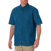Dickies® Short-Sleeve Denim Work Shirt