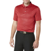 PGA TOUR® Embossed Heather Polo
