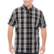 I Jeans by Buffalo Marcus Short-Sleeve Woven Button-Front Shirt - Big & Tall