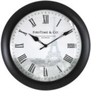 Eiffel Slim Wall Clock