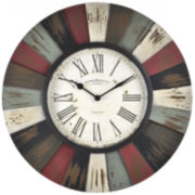 Reclaimed Burst Wall Clock