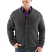 Claiborne® Shawl-Collar Cardigan-Big & Tall