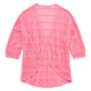 Total Girl® Cocoon Cardigan - Girls 7-16 and Plus