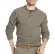 Arrow® Long-Sleeve Fleece Henley