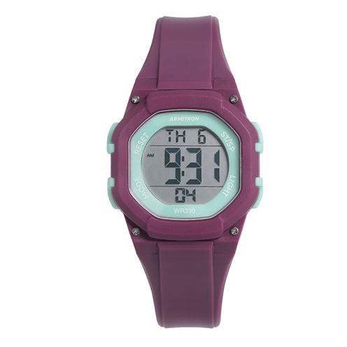 Armitron Womens Pink Strap Watch-45/7080pur