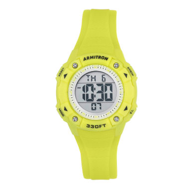 jcpenney.com | Armitron Womens Yellow Strap Watch-45/7081lgn