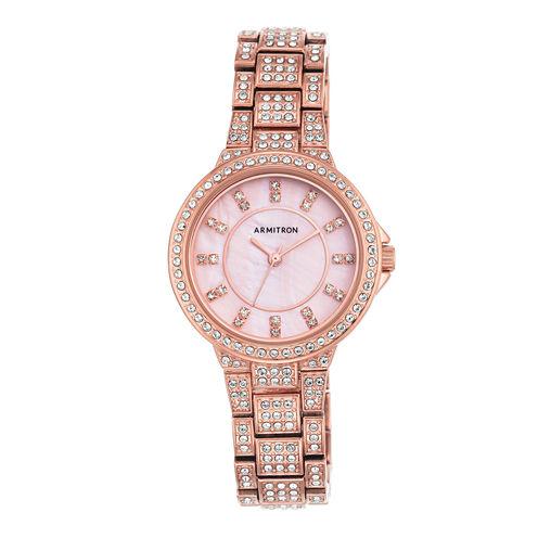 Armitron Now Womens Rose Goldtone Watch -75/5317pmrg