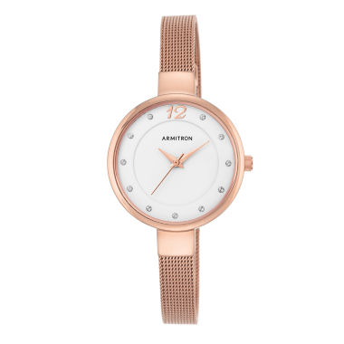 jcpenney.com | Armitron Now Womens Rose Goldtone Watch Boxed Set-75/5465wtrg