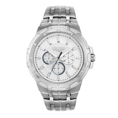 jcpenney.com | Armitron All Sport Mens Silver Tone Watch Boxed Set-20/5144svsv