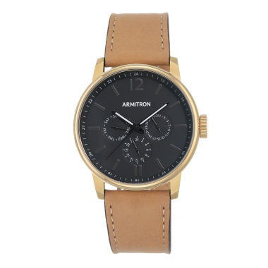 jcpenney.com | Armitron All Sport Mens Brown Watch Boxed Set-20/5217bkgptn
