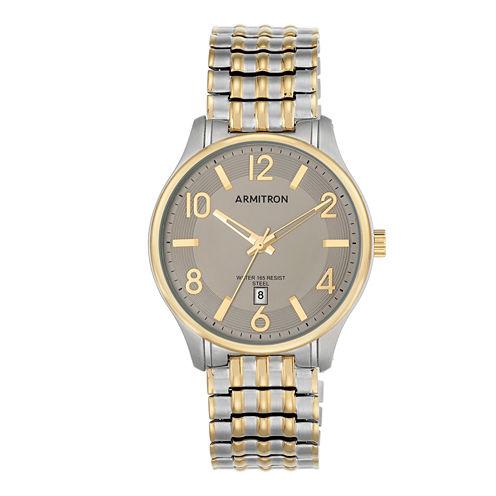 Armitron All Sport Mens Two Tone Watch -20/5221gytt
