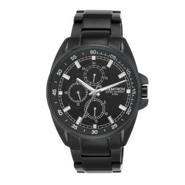jcpenney.com | Armitron All Sport Mens Black Watch Boxed Set-20/5224bkti