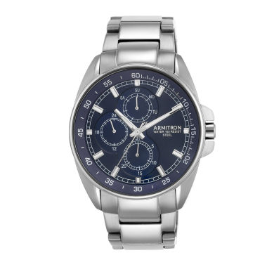 jcpenney.com | Armitron All Sport Mens Silver Tone Watch Boxed Set-20/5224nvsv