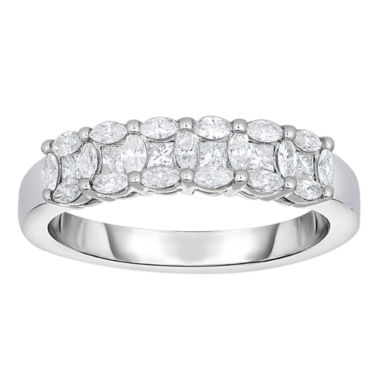 jcpenney.com | Womens 5/8 CT. T.W. White Diamond 14K Gold Band